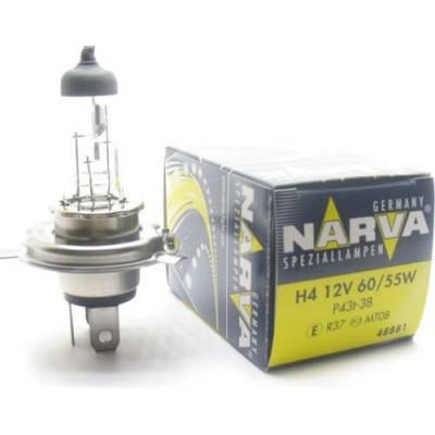 Автолампа 48881 H4 12V-60/55W (P43t) NARVA