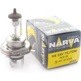 Галогенная автолампа 48892 H4 24V-75/70W (P45t) NARVA