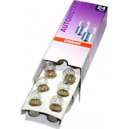 Комплект автомобильных ламп Osram 5637 10W 24V BA15s 10шт.