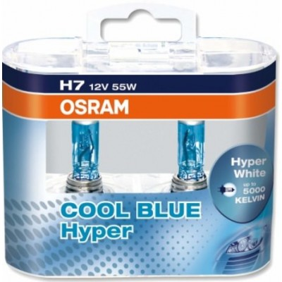 Osram 62210CBH-Box H7 COOL BLUE HYPER комплект ламп галогенных 2шт.