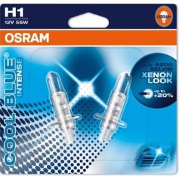 Osram 64150CBI-02B комплект автоламп галогенных H1 Cool Blue Intense 4200K 2шт.