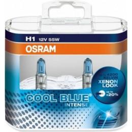 Osram 64150CBI-Box комплект автоламп галогенных H1 Cool Blue Intense 4200K 2шт.