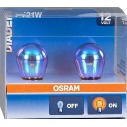 Комплект автоламп Osram 7507LDA-02B DIADEM PY21W 12V 2шт.