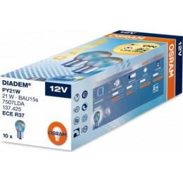 Комплект автоламп Osram 7507LDA-10 DIADEM PY21W 12V 10шт.