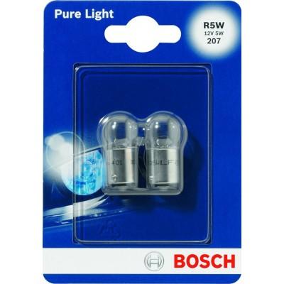 Комплект автоламп Bosch 1987301022 R5W 2шт