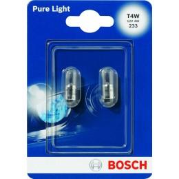 Комплект автоламп Bosch 1987301023 T4W PureLight 2шт.