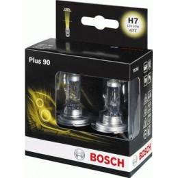 Комплект галогеновых ламп Bosch 1987301075 Plus 90 H7 2шт.