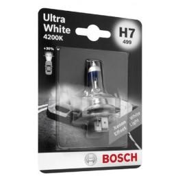 Лампа галогеновая Bosch 1987301090 Ultra White 4200K H7