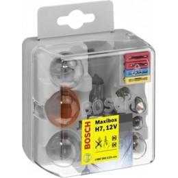Комплект автомобильных ламп Bosch 1987301113 Maxibox