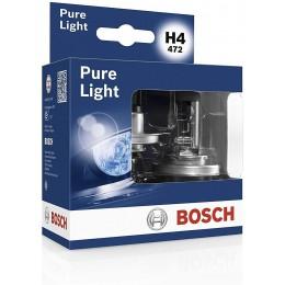 Комплект ламп галогеновх Bosch 1987301405 Pure Light H4 2шт