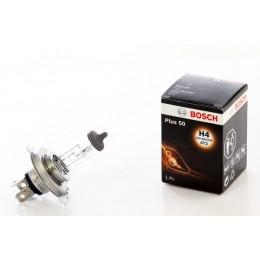 Лампа галогеновая Bosch 1987302049 Plus 50 H4