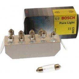Комплект автоламп Bosch 1987302211 C5W PureLight 10шт.