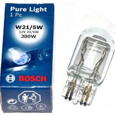 Автолампа Bosch 1987302252 W21/5W PureLight