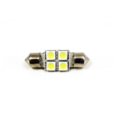 Cветодиодная софитная лампа белая 4 led OLT318WT