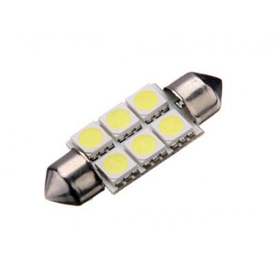 Cветодиодная софитная лампа белая 6 led OLT2016WT