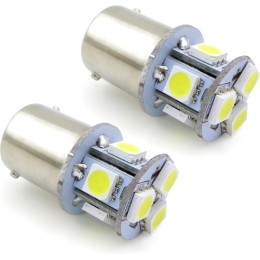 Комплект светодиодных ламп P21/5W 8led OLT2516DWT 2шт.
