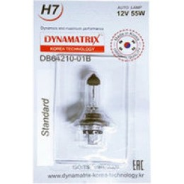 Лампа галогеновая DYNAMATRIX-KOREA DB64210-01B H7 12V