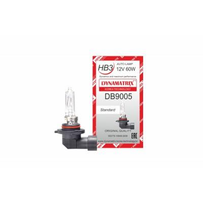 Автолампа DYNAMATRIX-KOREA DB9005 HB3 12V