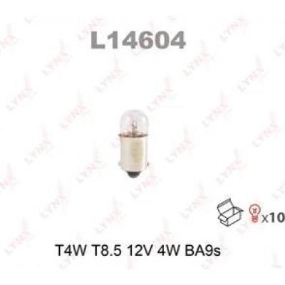 Комплект автоламп Lynx L14604 T4W 12V 10шт