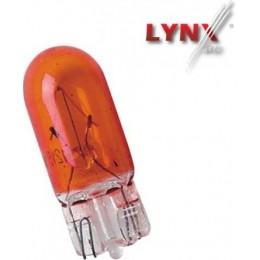 Комплект автоламп Lynx L12805Y W5W 12V 10шт.