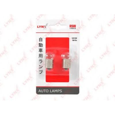 Комплект автоламп Lynx L14505-02 R5W 12V 2шт