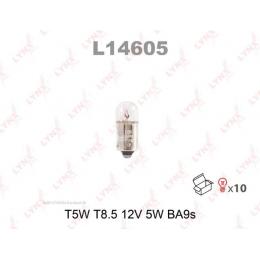 Lynx L14605 T5W комплект автоламп 12V 10шт.