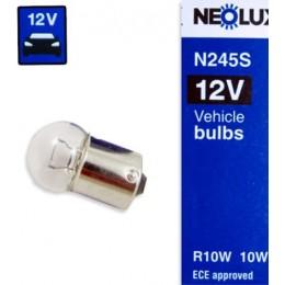 Neolux N245 R10W комплект автоламп 12V 10шт.