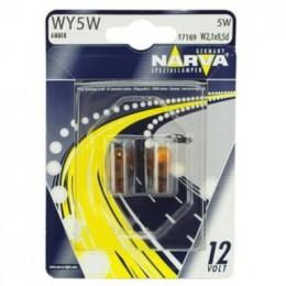 Комплект автоламп NARVA 17169B2 WY5W 12V-5W 2шт.