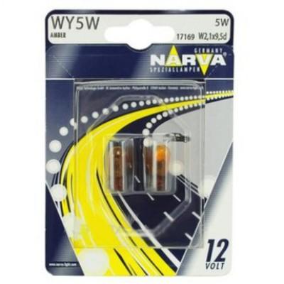 Комплект автоламп NARVA 17169B2 WY5W 12V-5W 2шт