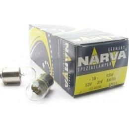 Комплект автоламп NARVA 17171 R5W 12V-5W (BA15s) 10шт.