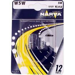 Комплект автоламп NARVA 17177B2 W5W 12V-5W 2шт.