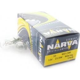 Комплект автоламп NARVA 17919-10 W21/5W 12V-21/5W 10шт.