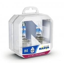 Комплект ламп галогеновых NARVA 48069 H4 Range Power 150 2шт