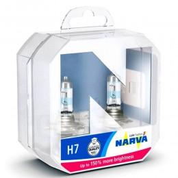 Комплект ламп галогенных NARVA 48071 H7 Range Power 150 2шт