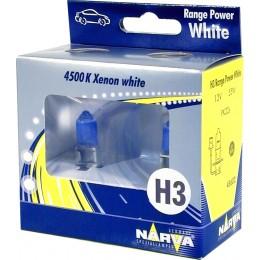 Галогенная лампа Narva 48602RPW H3 Range Power White 2шт