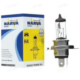 Лампа галогеновая Narva 48861 H4 12V Range Power 50+