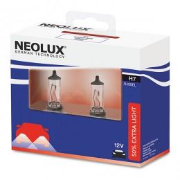 Комплект ламп галогенных Neolux N499EL-SCB H7 Extra Light +50% 2шт