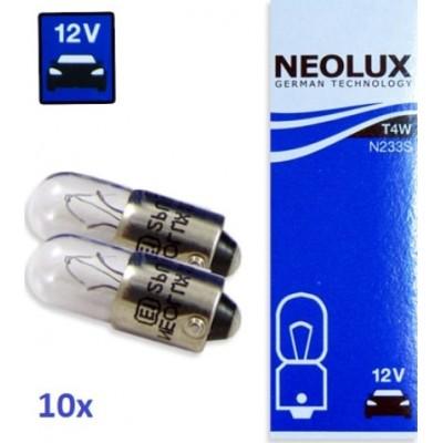 Комплект автоламп Neolux N233-10 T4W 12V 10шт