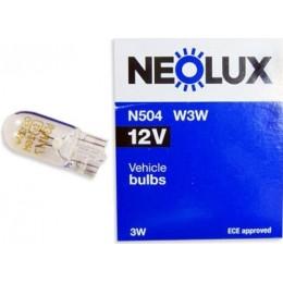Комплект автоламп Neolux N504 W3W 12V 10шт.