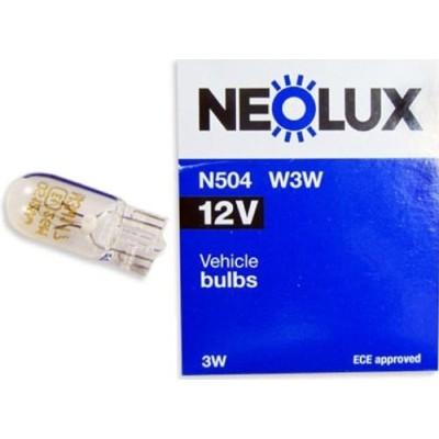 Комплект автоламп Neolux N504 W3W 12V 10шт
