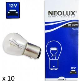 Комплект автоламп Neolux N566 P21/4W 12V 10шт.