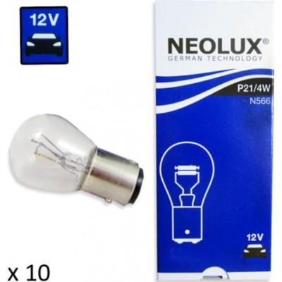 Комплект автоламп Neolux N566 P21/4W 12V 10шт