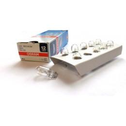 Комплект автомобильных ламп Osram 2820 W2.1x9.5d 10шт.