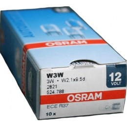 Комплект автомобильных ламп Osram 2821 W2.1x9.5d 10шт.