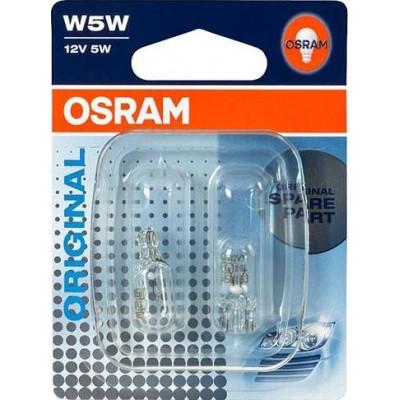 Комплект автоламп Osram 2825-02B W5W 2шт