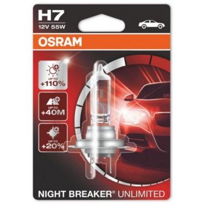 Osram 64210NBU-01B автолампа галогенная H7 12V NIGHT BREAKER UNLIMITED