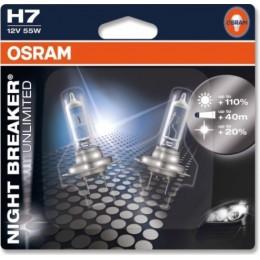 Osram 64210NBU-02B комплект автоламп галогенных H7 12V NIGHT BREAKER UNLIMITED 2шт