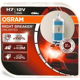 Osram 64210NBU-Box комплект автоламп галогенных H7 12V NIGHT BREAKER UNLIMITED 2шт
