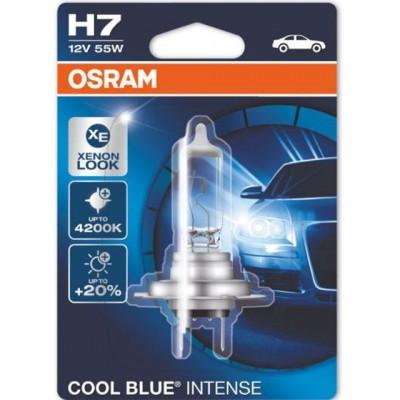 Автолампа галогенная Osram 64210CBI-01B H7 12V COOL BLUE INTENSE