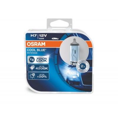 Комплект автоламп галогенных Osram 64210CBI-HCB H7 12V COOL BLUE INTENSE 2шт